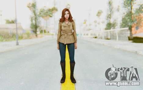 Marvel Future Fight - Black Widow (Civil War) for GTA San Andreas second screenshot