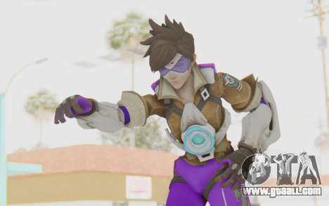 Overwatch - Tracer v6 for GTA San Andreas