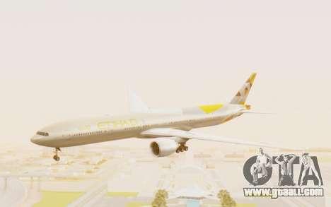 Boeing 777-300ER Etihad Airways for GTA San Andreas