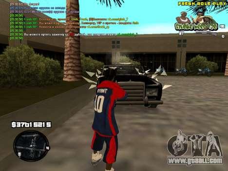 C-HUD Smoke Weed 420 for GTA San Andreas