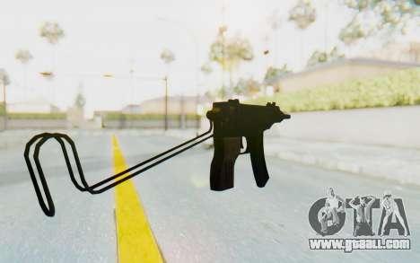 VZ-61 Skorpion Unfold Stock for GTA San Andreas third screenshot