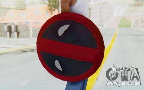 Deadpool Shield v2 for GTA San Andreas third screenshot