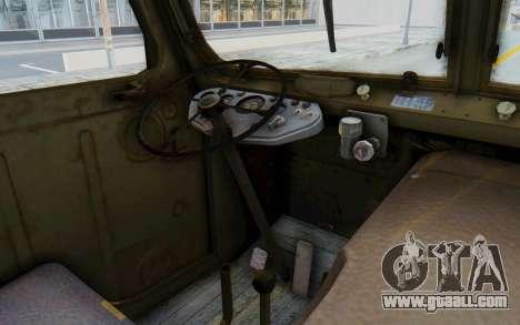 Praga V3S for GTA San Andreas inner view
