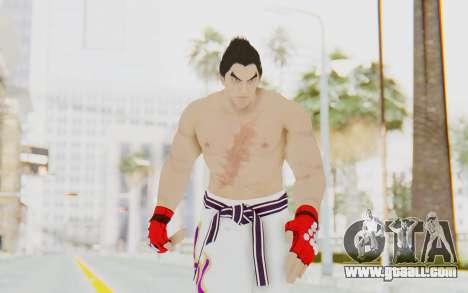 Kazuya Mishima Skin for GTA San Andreas