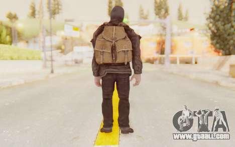 COD BO Russian Soldier Balaclava for GTA San Andreas third screenshot