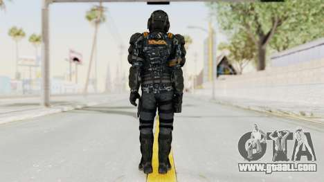 CoD Advanced Warfare KVA Heavy Soldier for GTA San Andreas third screenshot