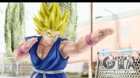 Dragon Ball Xenoverse Goku GT Adult SSJ2 for GTA San Andreas