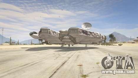 GTA 5 Star Wars Millenium Falcon 5.0 third screenshot