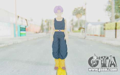 Dragon Ball Xenoverse Future Trunks Shirt for GTA San Andreas second screenshot