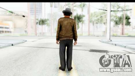 Mafia 2 - Marty for GTA San Andreas third screenshot
