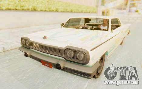 GTA 5 Declasse Voodoo for GTA San Andreas engine