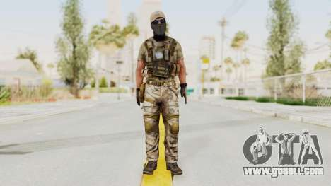 MOH Warfighter Grom Specops for GTA San Andreas second screenshot