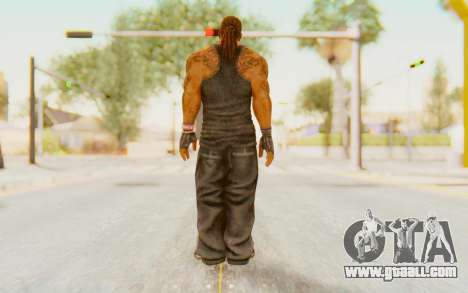 Def Jam Fight For New York - Busta Rhymes for GTA San Andreas third screenshot