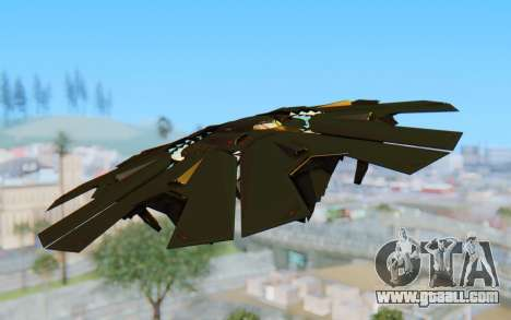 GTA 5 UFO B-2 Style for GTA San Andreas back left view