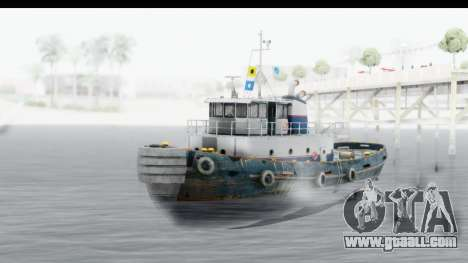 GTA 5 Buckingham Tug Boat v2 for GTA San Andreas
