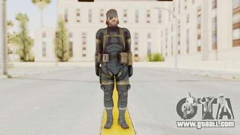 MGSV Phantom Pain Big Boss SV Sneaking Suit v1 for GTA San Andreas second screenshot