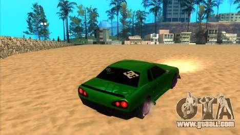 Elegy 1.3 by Mr.Phantom for GTA San Andreas left view
