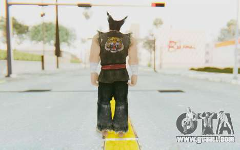 Heihachi Mishima (Young) for GTA San Andreas third screenshot