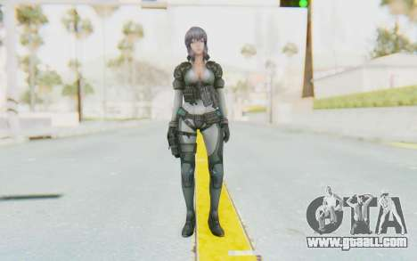 Ghost In The Shell First Assautl Motoko v2 for GTA San Andreas second screenshot