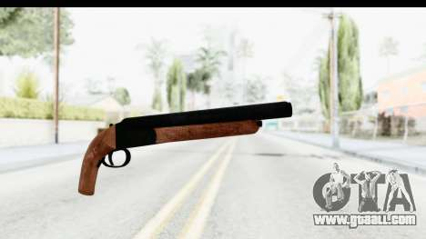 GTA 5 Double Barrel Sawn-Off for GTA San Andreas