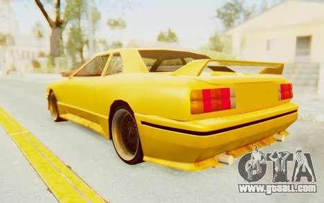 Elegy E30 for GTA San Andreas back left view