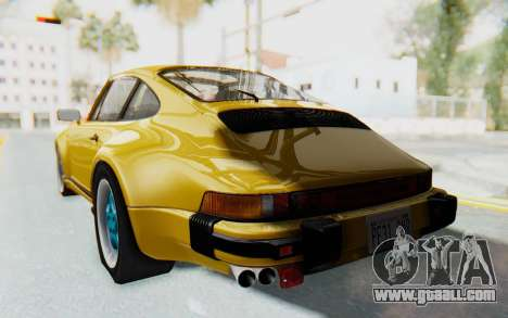 Porsche 911 Turbo 3.2 Coupe (930) 1985 for GTA San Andreas left view