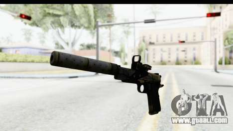 FarCry 3 - Colt 1911 Silenced for GTA San Andreas second screenshot