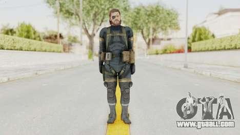 MGSV Phantom Pain Big Boss SV Sneaking Suit v2 for GTA San Andreas second screenshot