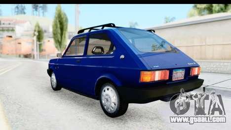 Fiat 147 Spazio TR Stock for GTA San Andreas left view