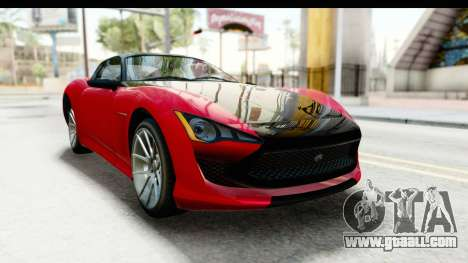 GTA 5 Lampadati Furore GT IVF for GTA San Andreas