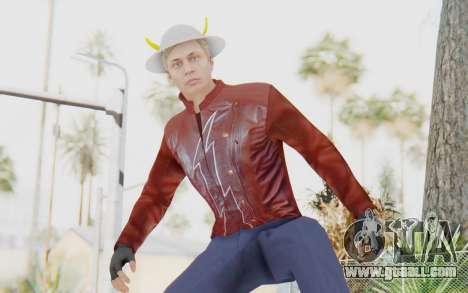 Jay Garrick (Hunter Zoolomon) for GTA San Andreas