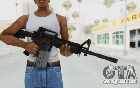 Assault M4A1 for GTA San Andreas third screenshot