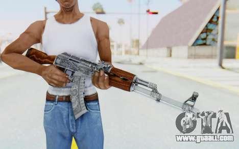 CS:GO - AK-47 Cartel for GTA San Andreas third screenshot