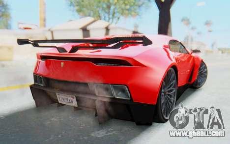GTA 5 Pegassi Reaper IVF for GTA San Andreas left view
