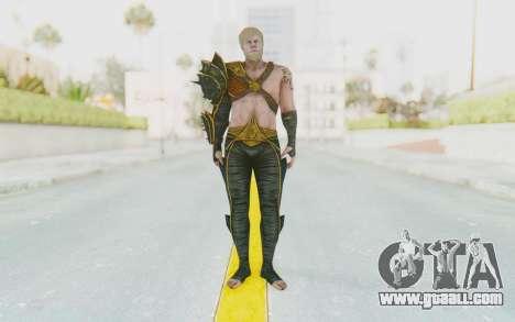 Injustice 2 - Aquaman for GTA San Andreas second screenshot