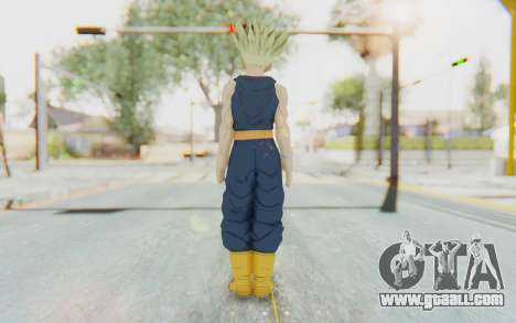 Dragon Ball Xenoverse Future Trunks Shirt SSJ for GTA San Andreas third screenshot