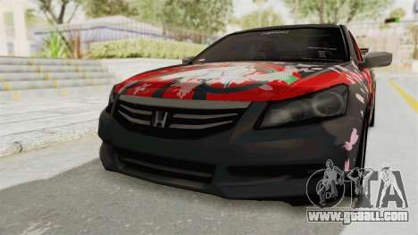 Honda Accord 2011 Hatsune Miku Senbonzakura for GTA San Andreas