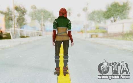 The Witcher 3 - Triss Merigold Default for GTA San Andreas third screenshot