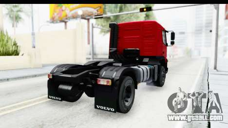 Volvo FMX Euro 5 v2.0 for GTA San Andreas left view