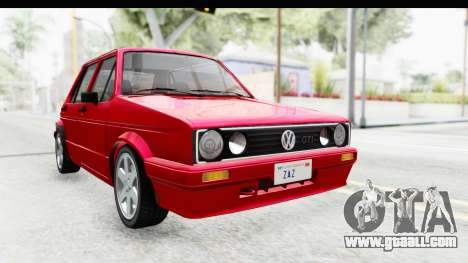 Volkswagen Golf Citi 1.8 1998 for GTA San Andreas right view