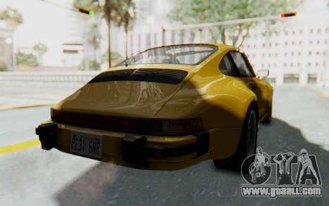 Porsche 911 Turbo 3.2 Coupe (930) 1985 for GTA San Andreas right view