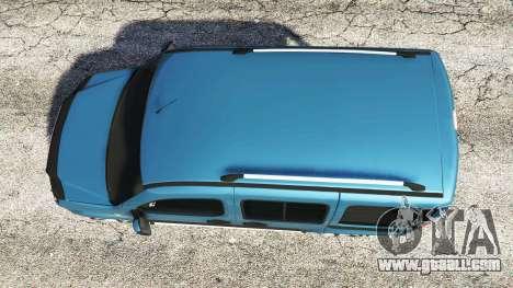 GTA 5 Fiat Doblo back view