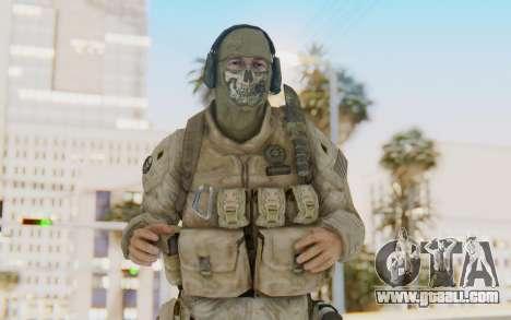 CoD MW2 Ghost Model v1 for GTA San Andreas