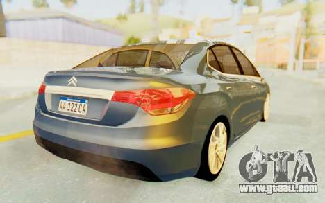 Citroen C4 Lounge for GTA San Andreas right view
