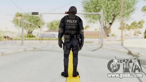 Dead Rising 2 Chucky Swat Outfit for GTA San Andreas third screenshot