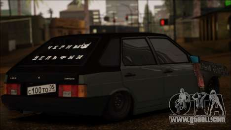 2109 Tramp for GTA San Andreas back left view