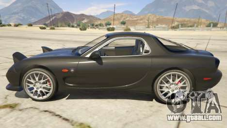 GTA 5 2002 Mazda RX-7 Spirit R Type left side view