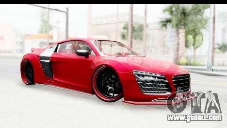 Audi R8 5.2 V10 Plus LB Walk for GTA San Andreas