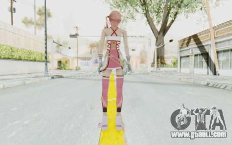 FinalFantasy XIII-2 - Serah for GTA San Andreas third screenshot