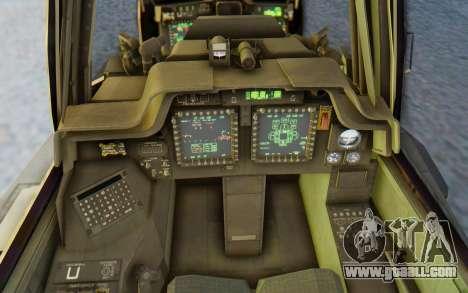 AH-64 Apache Marines for GTA San Andreas inner view